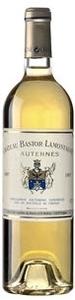 Ch. Bastor Lamontagne (Maison Ginestet) 2006, Ac Sauternes Bottle