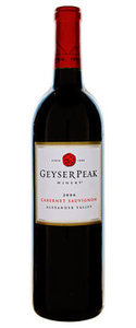 Geyser Peak Alexander Valley Cabernet Sauvignon 2006, Sonoma Valley Bottle
