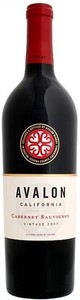 Avalon Cabernet Sauvignon 2007, Napa Valley Bottle