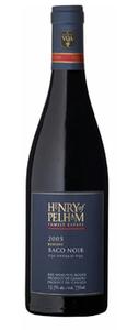 Henry Of Pelham Reserve Baco Noir 2008, VQA Ontario Bottle