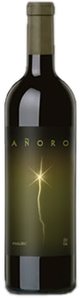 Anoro Malbec 2008, Mendoza Bottle