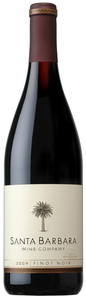 Santa Barbara Wine Company Pinot Noir 2009, Santa Barbara Bottle