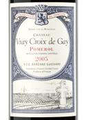 Château Vray Croix De Gay 2005, Ac Pomerol Bottle
