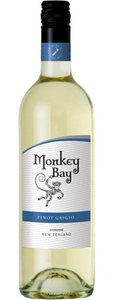 Monkey Bay Pinot Grigio 2010, New Zealand Bottle