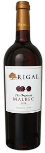 Rigal The Original Malbec 2009, Vin De Pays Du Lot Bottle