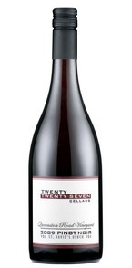 Twenty Twenty Seven Cellars Queenston Road Vineyard Pinot Noir 2009, St Davids Bench, Niagara Peninsula Bottle