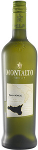 Montalto Pinot Grigio 2009, Sicily Bottle