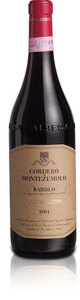 Cordero Di Montezemolo Barolo Monfalletto 2001 Bottle