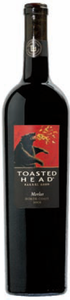 Toasted Head Merlot 2008, North Coast Bottle