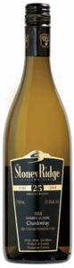 Stoney Ridge Warren Classic Chardonnay 2008, VQA Twenty Mile Bench, Niagara Peninsula Bottle