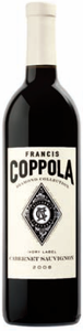 Francis Coppola Diamond Collection Ivory Label Cabernet Sauvignon 2008, California Bottle