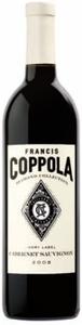 Francis Coppola Diamond Collection Ivory Label Cabernet Sauvignon 2008, California Bottle