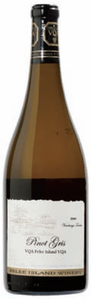 Pelee Island Winery Vendange Tardive Pinot Gris 2008, VQA Pelee Island Bottle