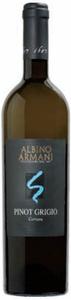 Albino Armani Corvara Pinot Grigio 2009, Doc Valdadige Bottle