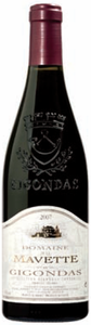Domaine De La Mavette Gigondas 2007, Ac Bottle