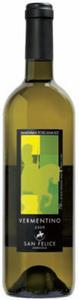San Felice Vermentino 2009, Igt Toscana Bottle