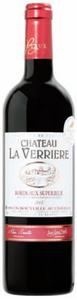 Château La Verrière 2008, Ac Bordeaux Supérieur Bottle