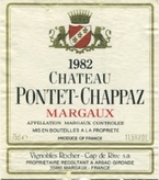 Chateau Pontet Chappaz 1970 Bottle