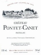 Chateau Pontet Canet 2007 2007 Bottle