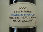 Two Hands Charlie's Patch 2007 Bottle