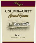 Columbia Crest Grand Estates Shiraz 2003 Bottle