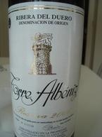 Torre Albeniz Reserva 2006, Ribera Del Douro 2006 Bottle