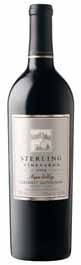 Sterling Cabernet Sauvignon 2008, Napa Valley Bottle