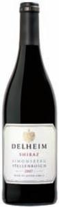Delheim Shiraz 2007, Wo Simonsberg Stellenbosch Bottle
