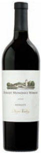 Robert Mondavi Merlot 2006, Napa Valley Bottle
