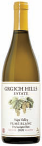 Grgich Hills Fumé Blanc 2009, Napa Valley Bottle