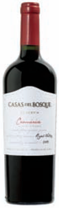 Casas Del Bosque Reserva Carmenère 2009, Rapel Valley Bottle