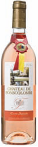 Château De Fonscolombe Cuvée Spéciale Rosé 2010, Ac Côteaux D'aix En Provence Bottle