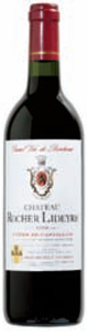 Château Rocher Lideyre 2006, Ac Côtes De Castillon Bottle