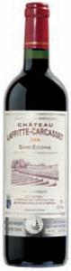 Château Laffitte Carcasset 2006, Ac St éstephe Bottle