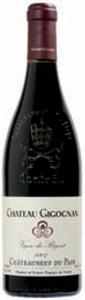 Château Gigognan Vigne Du Régent Châteauneuf Du Pape 2007, Ac Bottle