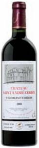 Château Saint André Corbin 2008, Ac St Georges St émilion Bottle