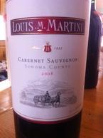Louis M. Martini 2008 Bottle