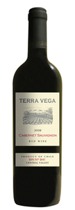 Terra Vega Cabernet Sauvignon Gran Reserva Kpm 2008, Central Valley Bottle