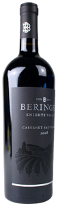 Beringer Cabernet Sauvignon 2008, Knights Valley, Sonoma County Bottle