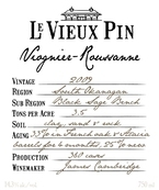 Le Vieux Pin Viognier Roussanne 2009, Okanagan Valley Bottle