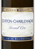 Maison Champy Corton Charlemagne Grand Cru 2006 Bottle