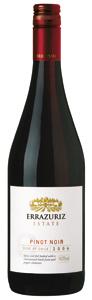 Errazuriz Estate Pinot Noir 2009 Bottle