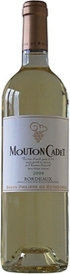 Mouton Cadet Blanc 2009, Bordeaux Bottle