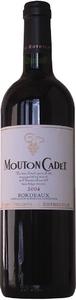 Mouton Cadet Rouge 2009, Bordeaux Bottle