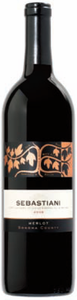 Sebastiani Merlot 2006, Sonoma County Bottle