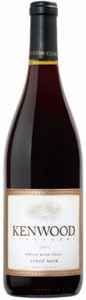 Kenwood Vineyards Pinot Noir 2008, Russian River Valley, Sonoma County Bottle