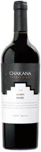 Chakana Reserve Malbec 2009, Mendoza Bottle