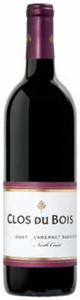 Clos Du Bois Cabernet Sauvignon 2007, North Coast Bottle