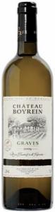 Château Boyrein 2009, Ac Graves Bottle