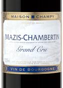 Maison Champy Mazis Chambertin Grand Cru 2006, Ac Bottle